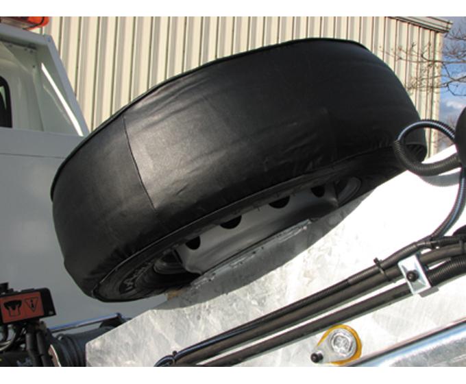 Defever construct by cargorent for Housse pour roue de secours